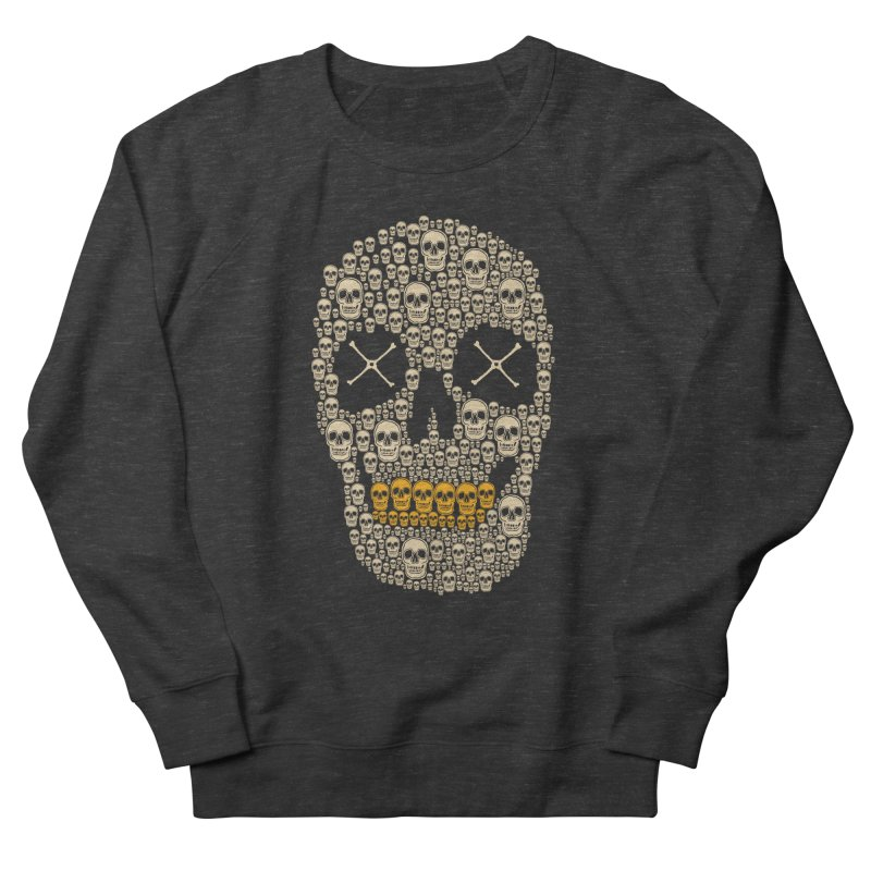 Gold Digger Skeleton Women's Sweatshirt by blackboxshop's Artist Shop