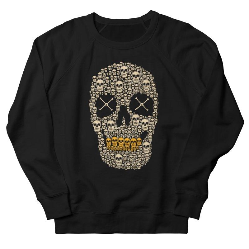 Gold Digger Skeleton Men's Sweatshirt by blackboxshop's Artist Shop
