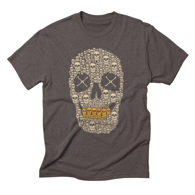 Gold Digger Skeleton Men's Triblend T-Shirt by blackboxshop's Artist Shop