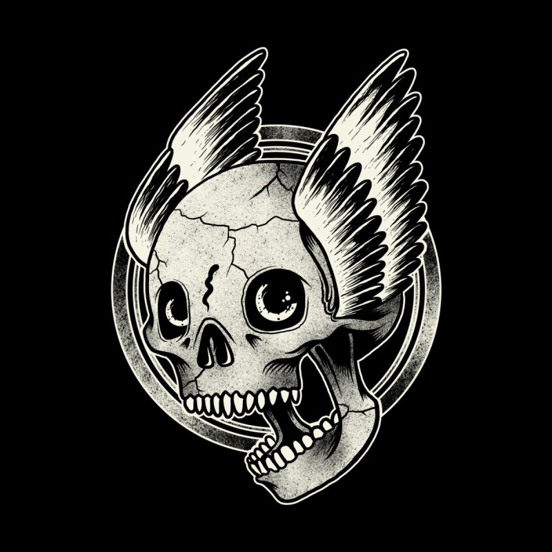 Skull Wings by blackboxshop's Artist Shop
