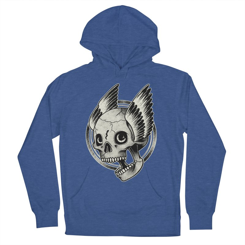 Skull Wings Men's Pullover Hoody by blackboxshop's Artist Shop
