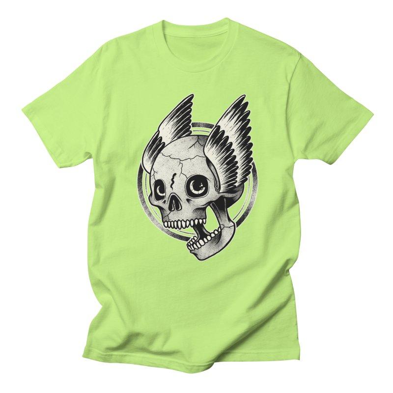 Skull Wings Men's T-shirt by blackboxshop's Artist Shop