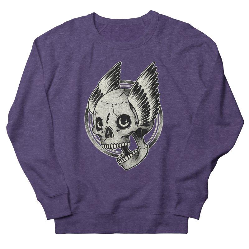 Skull Wings Women's Sweatshirt by blackboxshop's Artist Shop