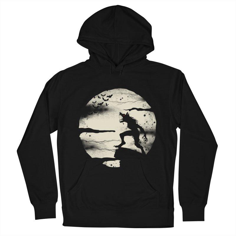 Werewolf fullmoon  Men's Pullover Hoody by blackboxshop's Artist Shop