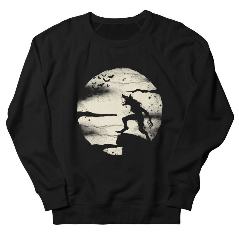 Werewolf fullmoon  Women's Sweatshirt by blackboxshop's Artist Shop