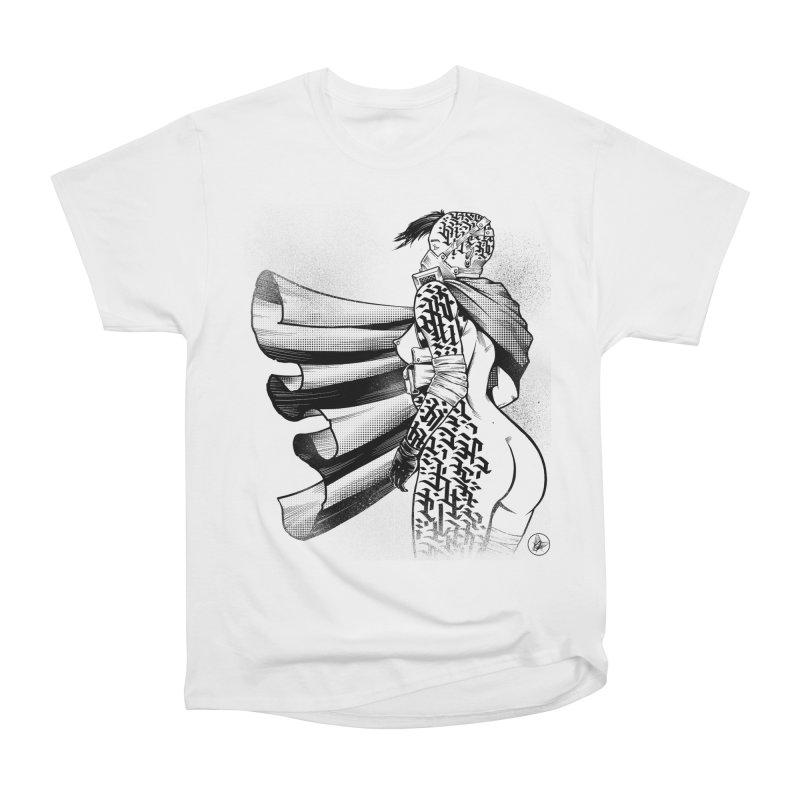 Hieroglyphic Grrl Men's T-Shirt by Black Fly Press Official Merchandise