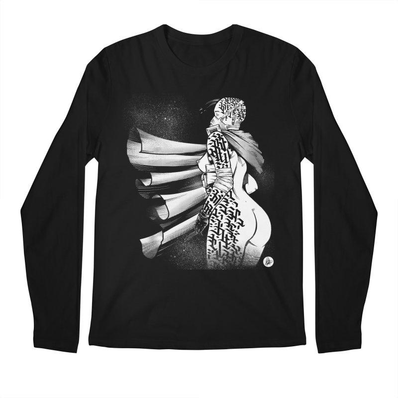 Hieroglyphic Grrl Men's Longsleeve T-Shirt by Black Fly Press Official Merchandise
