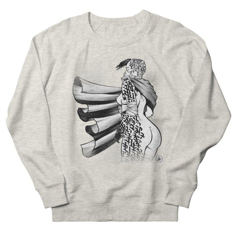 Hieroglyphic Grrl Men's Sweatshirt by Black Fly Press Official Merchandise