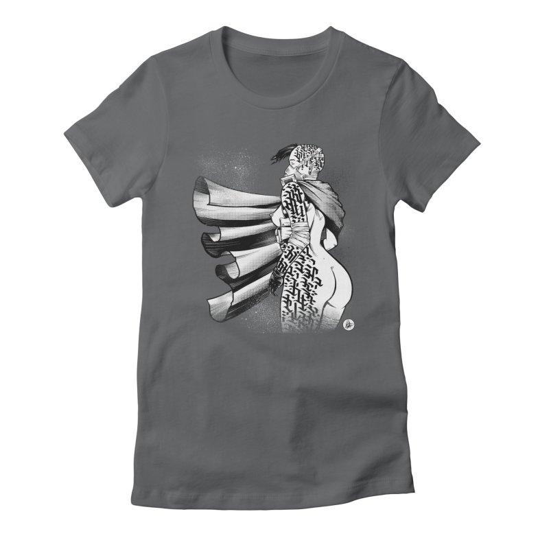 Hieroglyphic Grrl Women's T-Shirt by Black Fly Press Official Merchandise