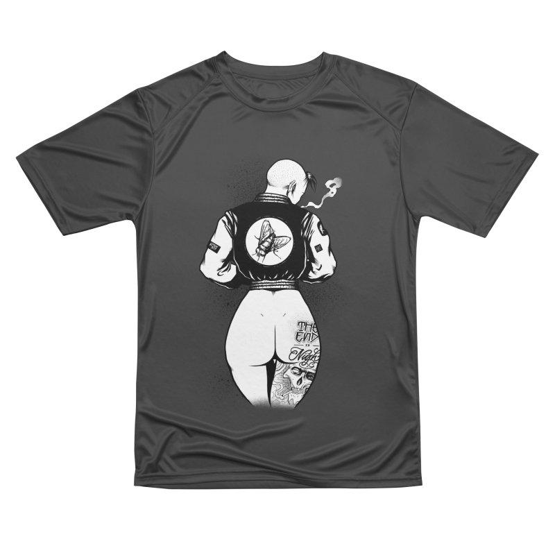 Punk Fly Grrl Men's T-Shirt by Black Fly Press Official Merchandise