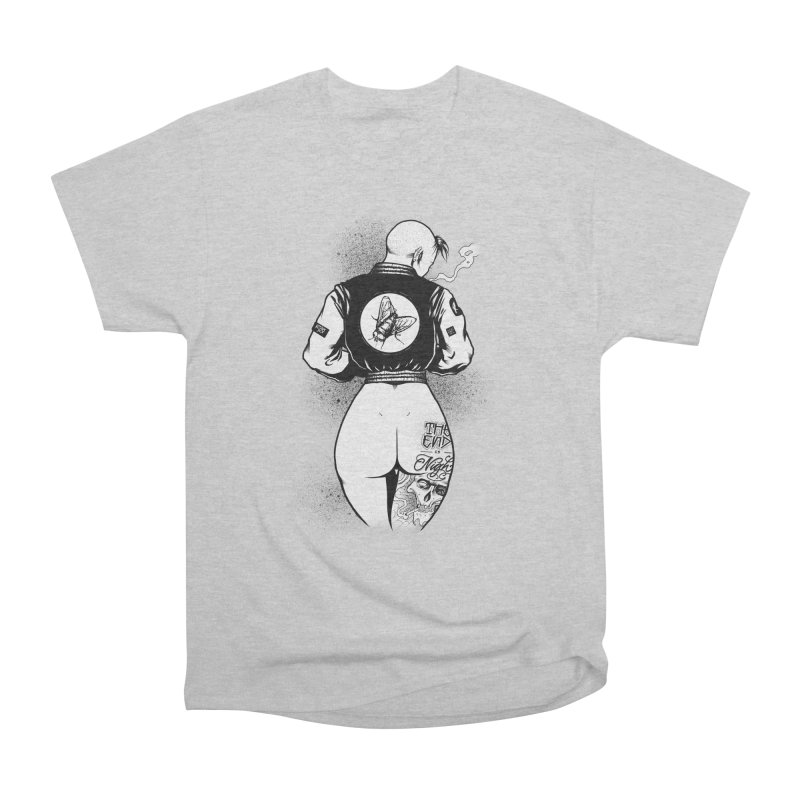 Punk Fly Grrl Men's T-Shirt by Black Fly Press Official Merchandise