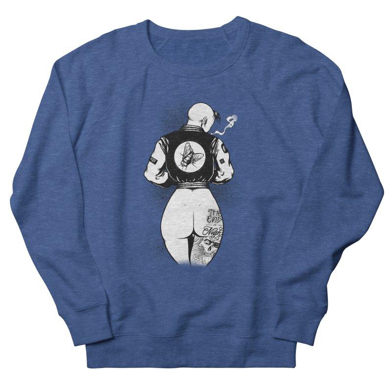 Punk Fly Grrl Men's Sweatshirt by Black Fly Press Official Merchandise