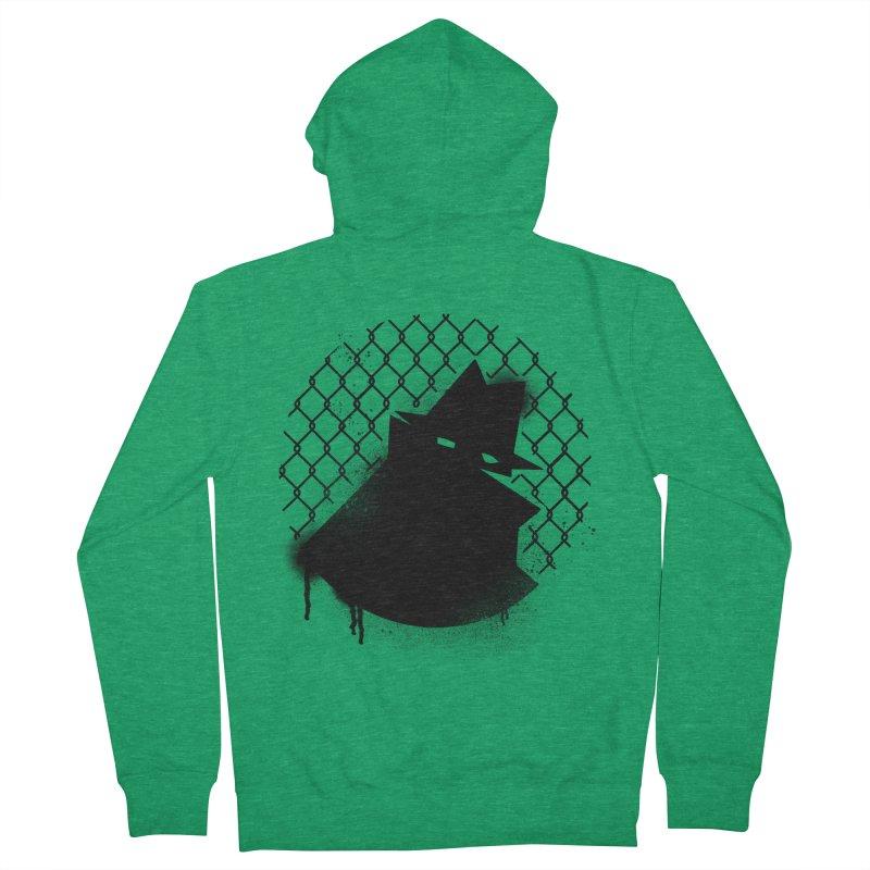 Good Neighbor (Black) Men's Zip-Up Hoody by Black Fly Press Official Merchandise