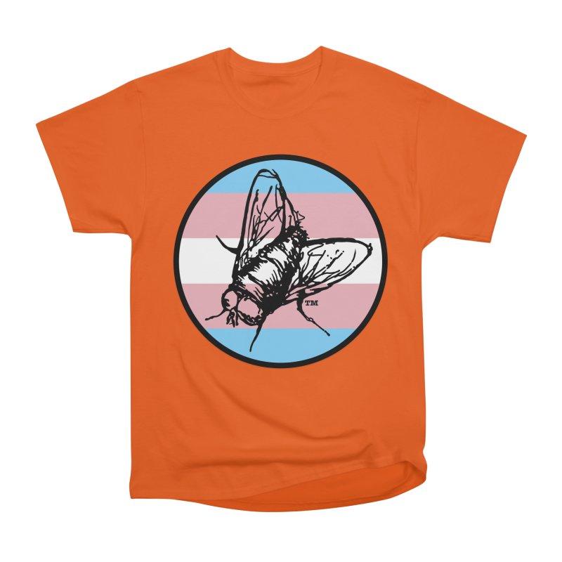 Black Fly Press Logo (Trans) Men's T-Shirt by Black Fly Press Official Merchandise