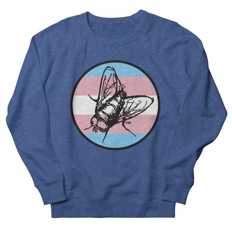 Black Fly Press Logo (Trans) Men's Sweatshirt by Black Fly Press Official Merchandise