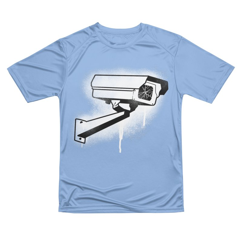 CCTV Men's T-Shirt by Black Fly Press Official Merchandise