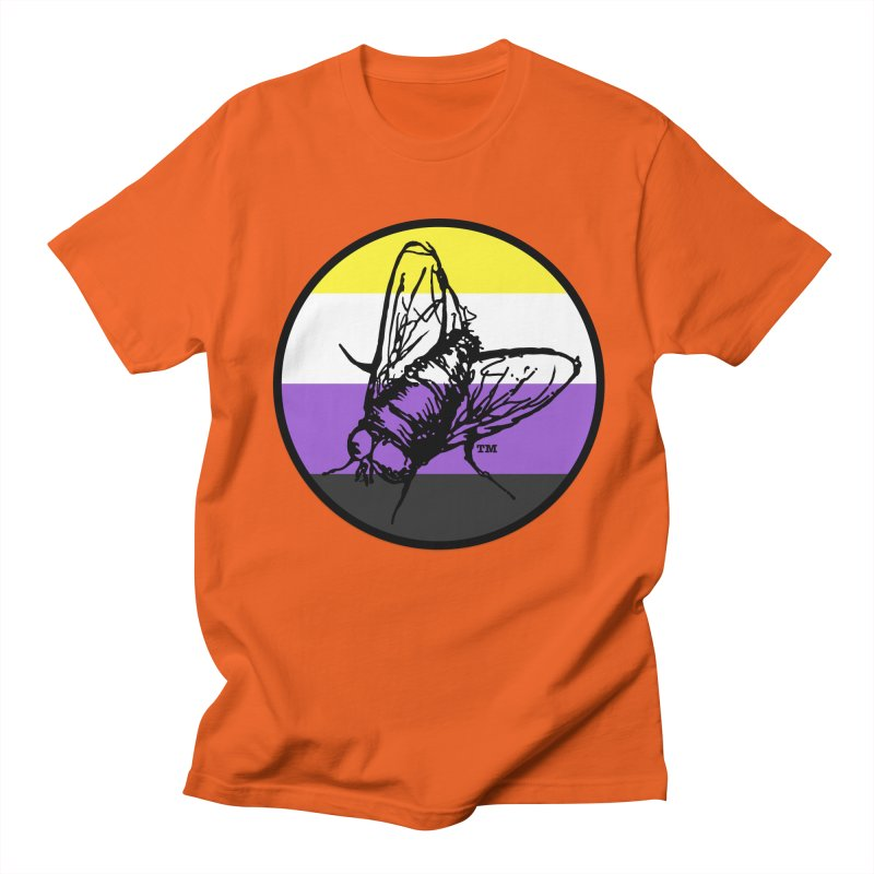 Black Fly Press Logo (Non-Binary) Men's T-Shirt by Black Fly Press Official Merchandise