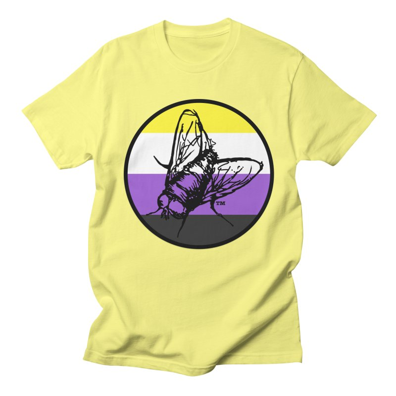 Black Fly Press Logo (Non-Binary) Men's T-Shirt by Black Fly Press Official Merchandise