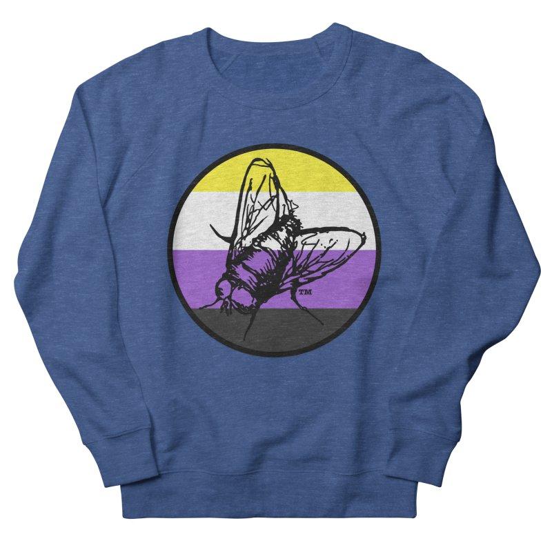 Black Fly Press Logo (Non-Binary) Men's Sweatshirt by Black Fly Press Official Merchandise