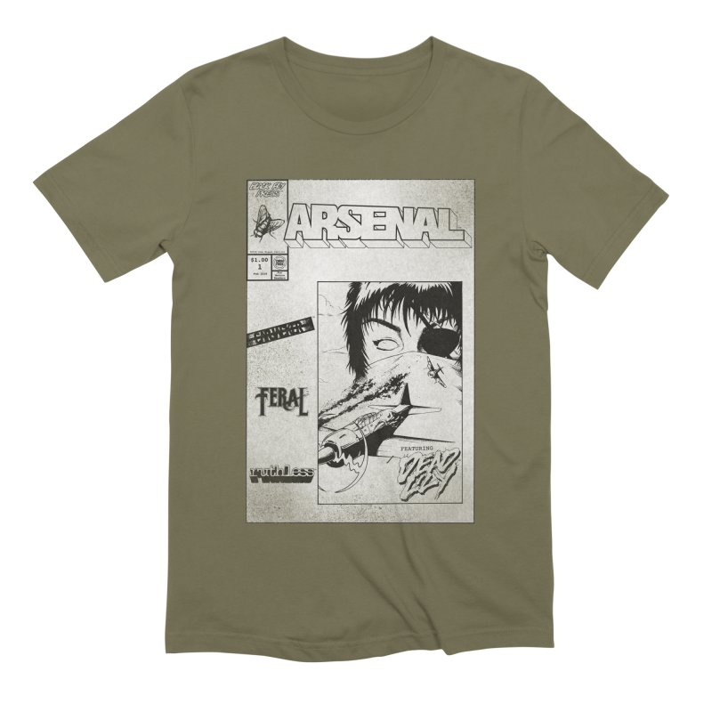 ARSENAL No.1 Cover Men's T-Shirt by Black Fly Press Official Merchandise