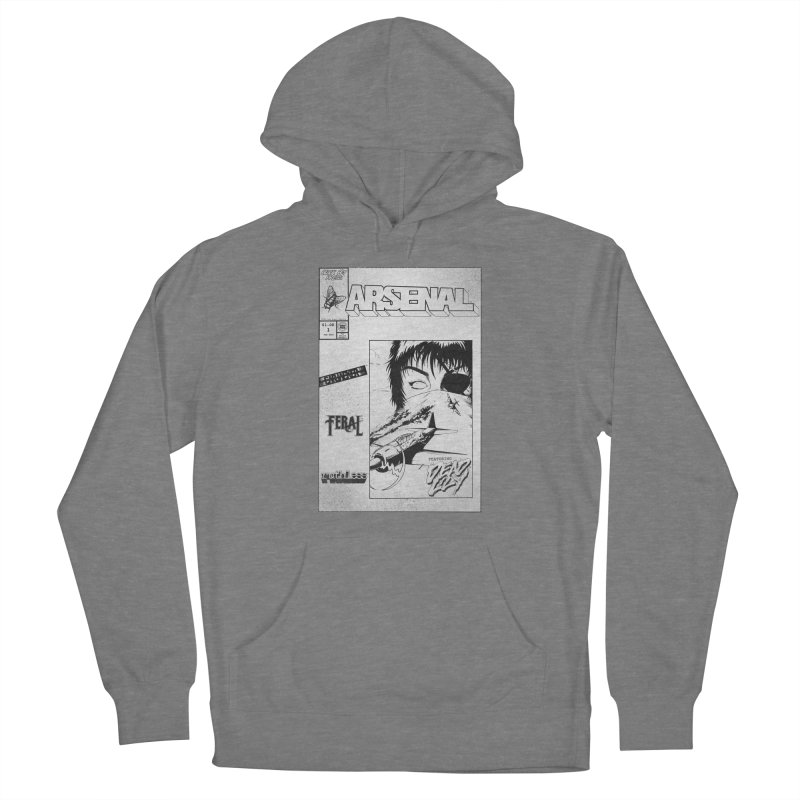 ARSENAL No.1 Cover Women's Pullover Hoody by Black Fly Press Official Merchandise