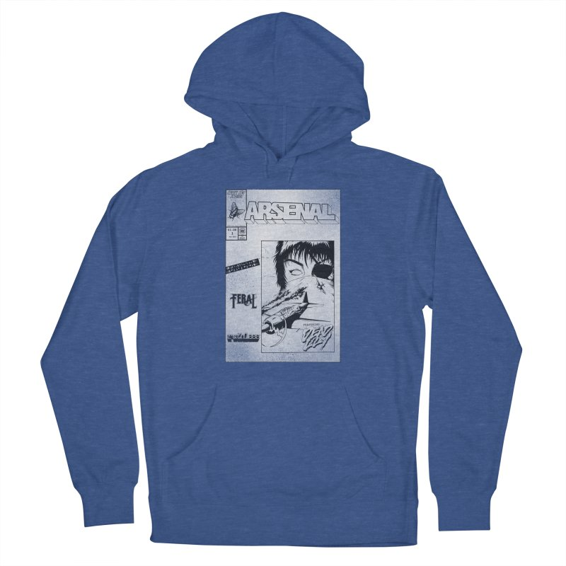 ARSENAL No.1 Cover Men's Pullover Hoody by Black Fly Press Official Merchandise