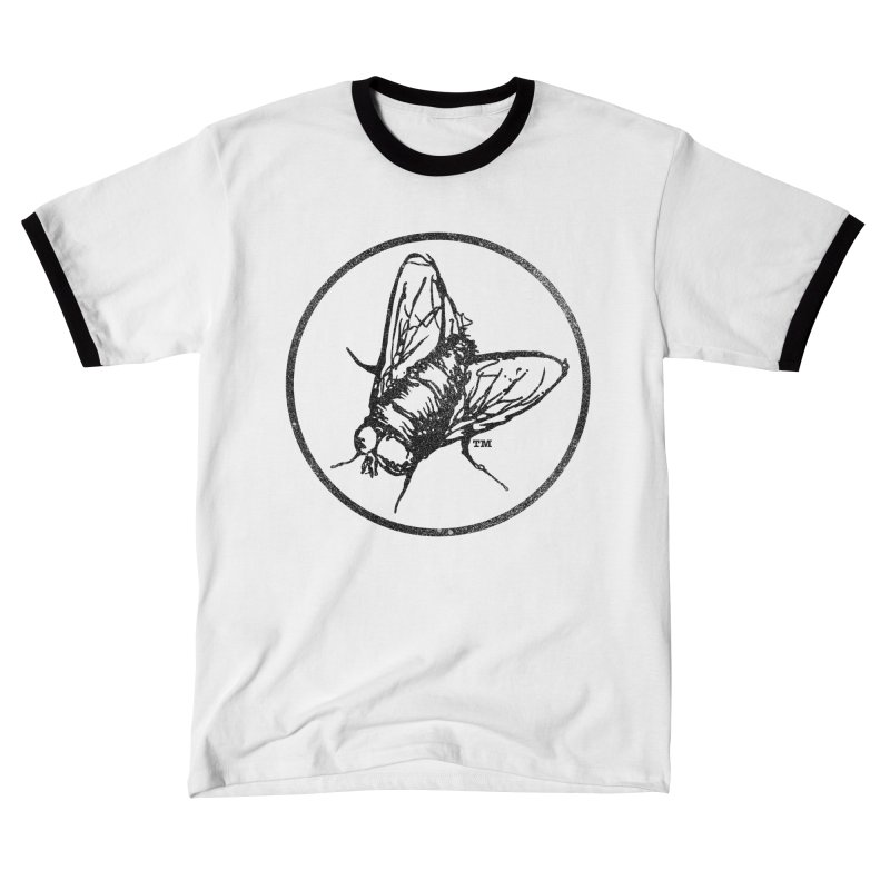 Black Fly Logo (Distressed) Men's T-Shirt by Black Fly Press Official Merchandise