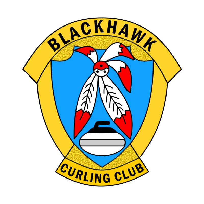 BCC Club Logo by Blackhawk Curling Club's Shop