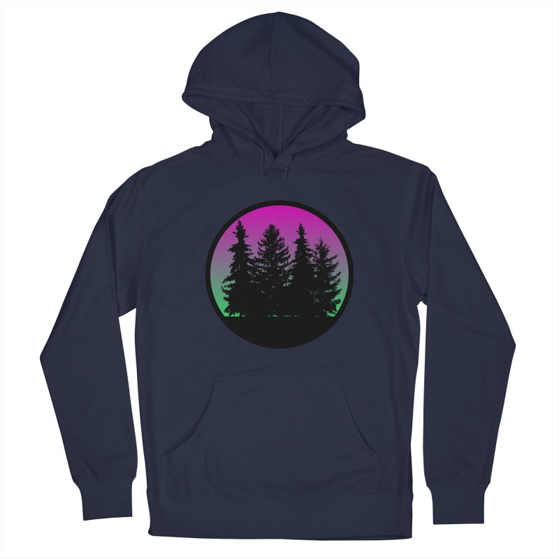 Neon Forest Men's Pullover Hoody by Black Market Designs