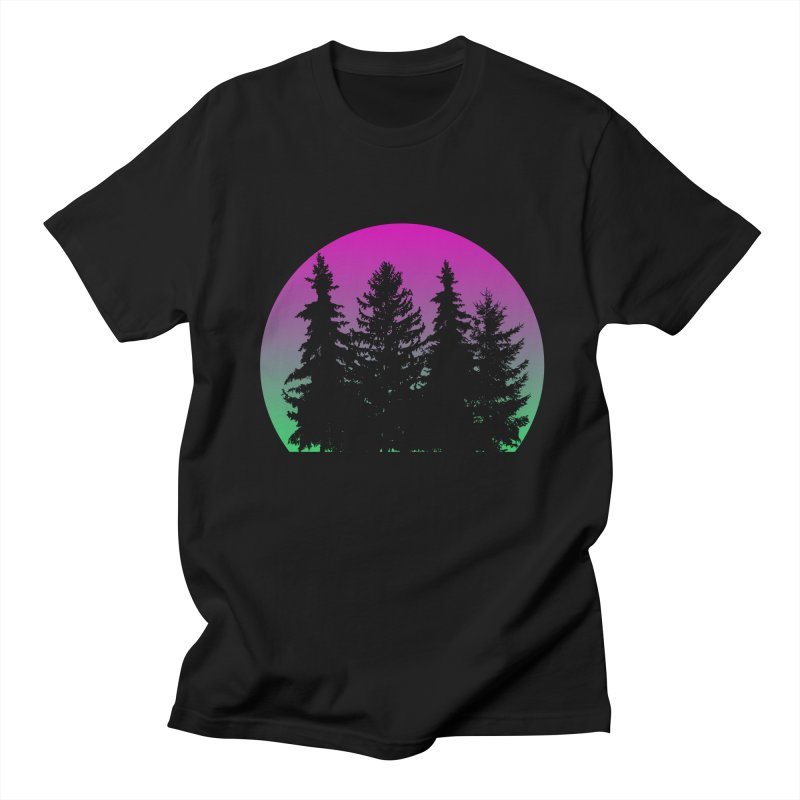Neon Forest Men's T-Shirt by Black Market Designs