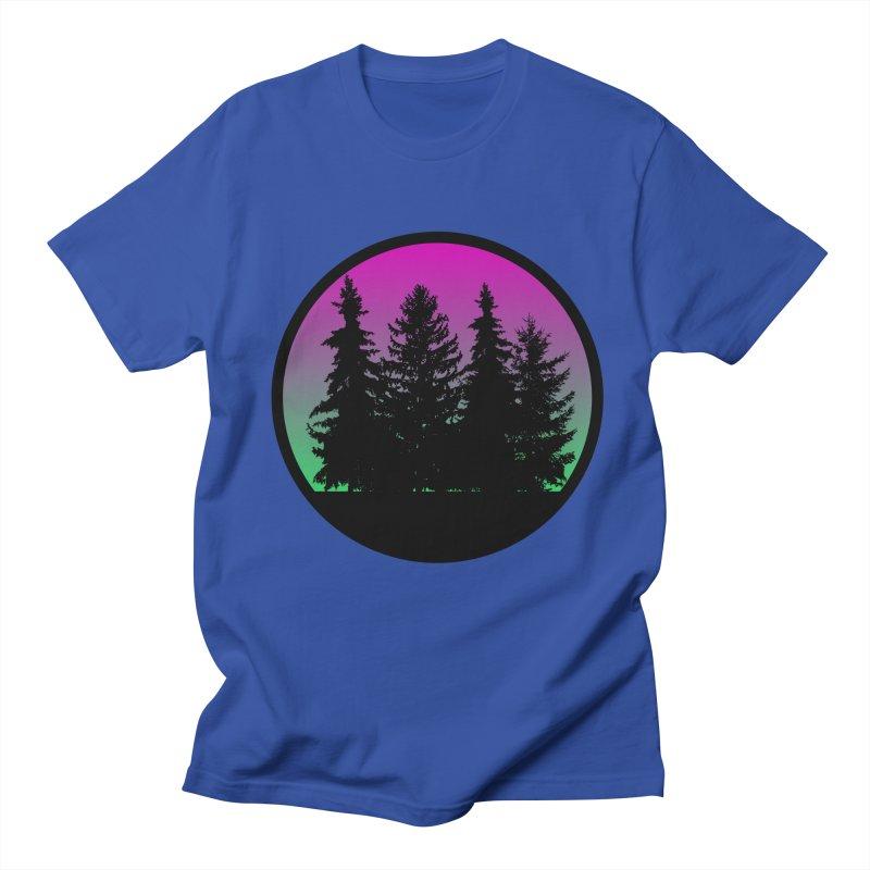 Neon Forest Men's T-Shirt by Black Market Designs
