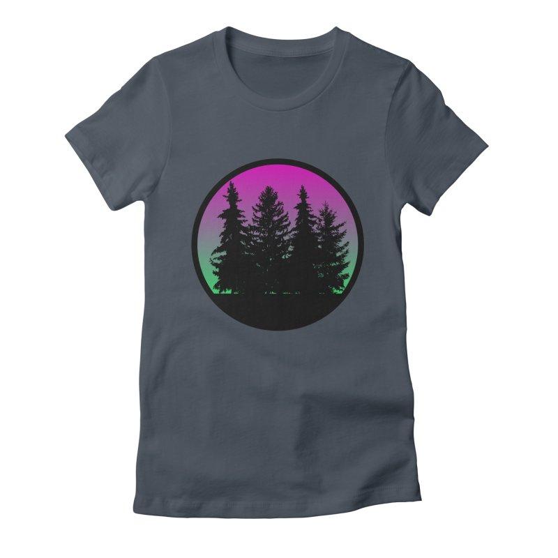 Neon Forest Women's T-Shirt by Black Market Designs