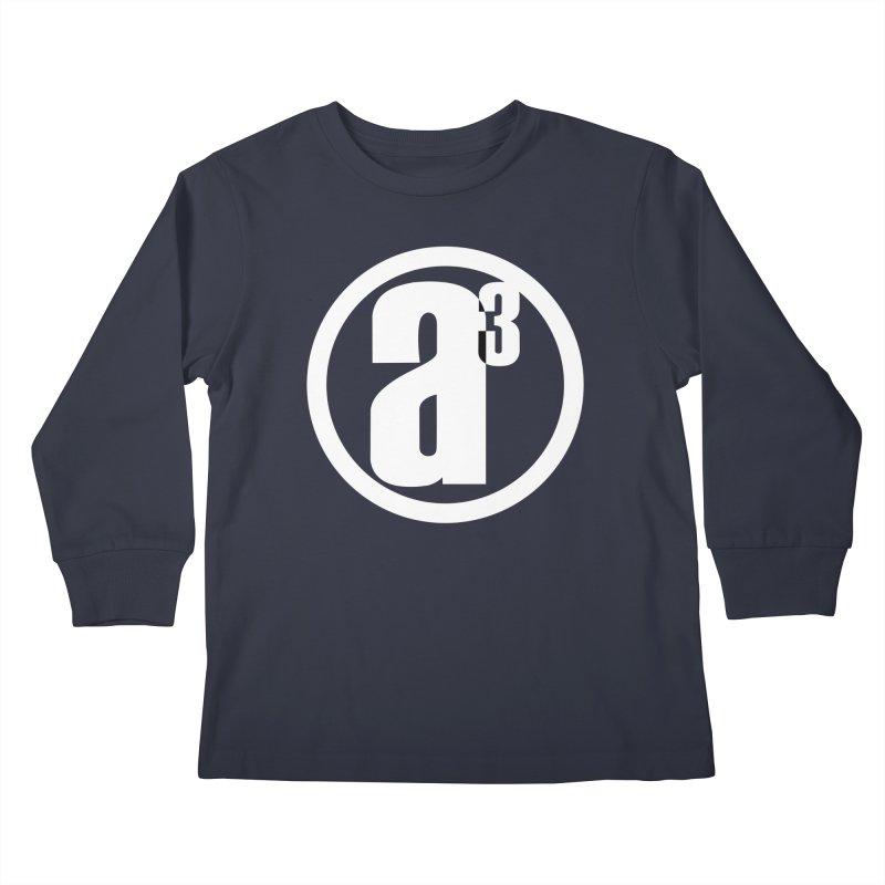 A3 Kids Longsleeve T-Shirt by Black Market Designs