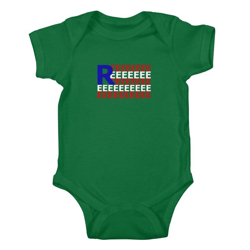 American REEE Kids Baby Bodysuit by Black Market Designs