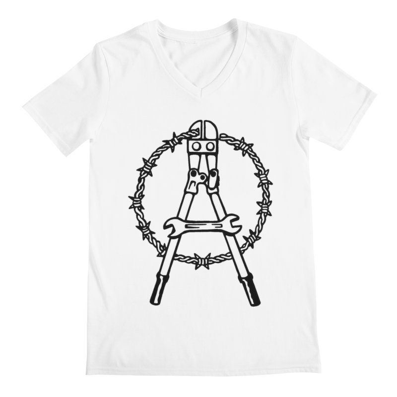 Saboteur Men's V-Neck by Black Market Designs