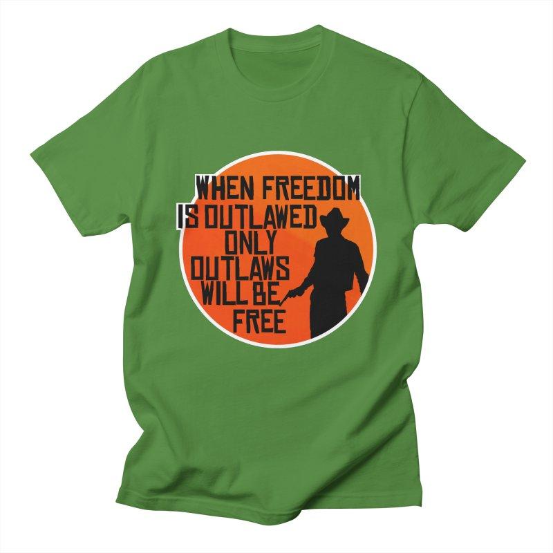 Outlaws Men's T-Shirt by Black Market Designs