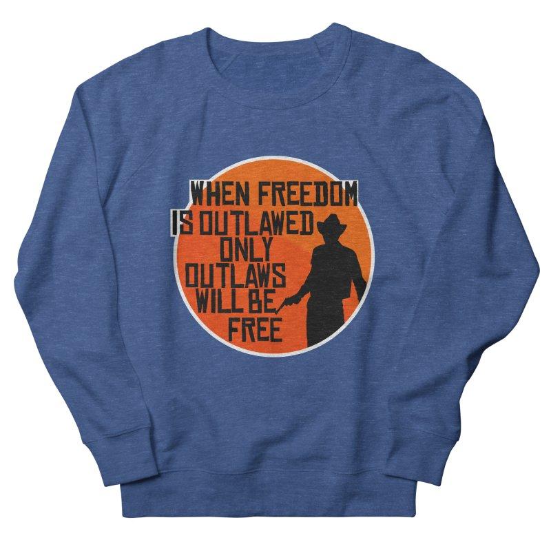 Outlaws Men's Sweatshirt by Black Market Designs
