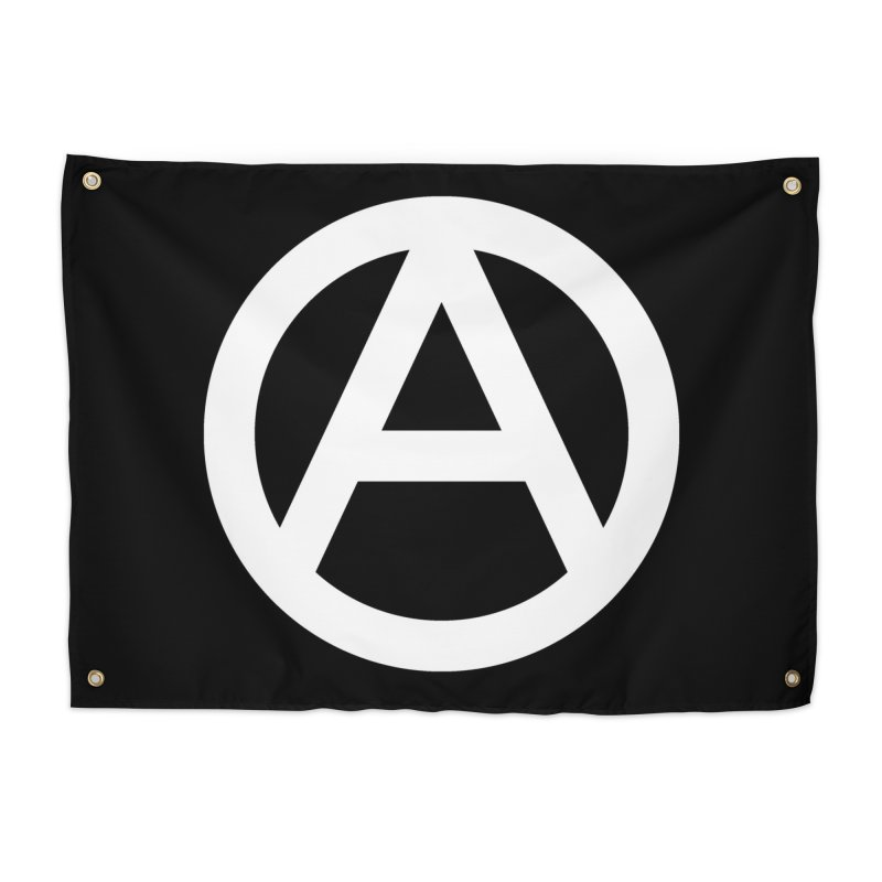 Anarchy Tapestry Home Tapestry by Black Market Designs