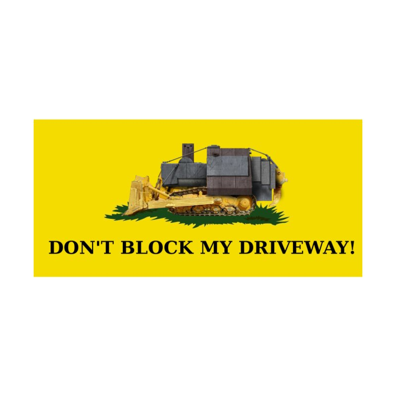 Don't Block My Driveway Men's Longsleeve T-Shirt by Black Market Designs