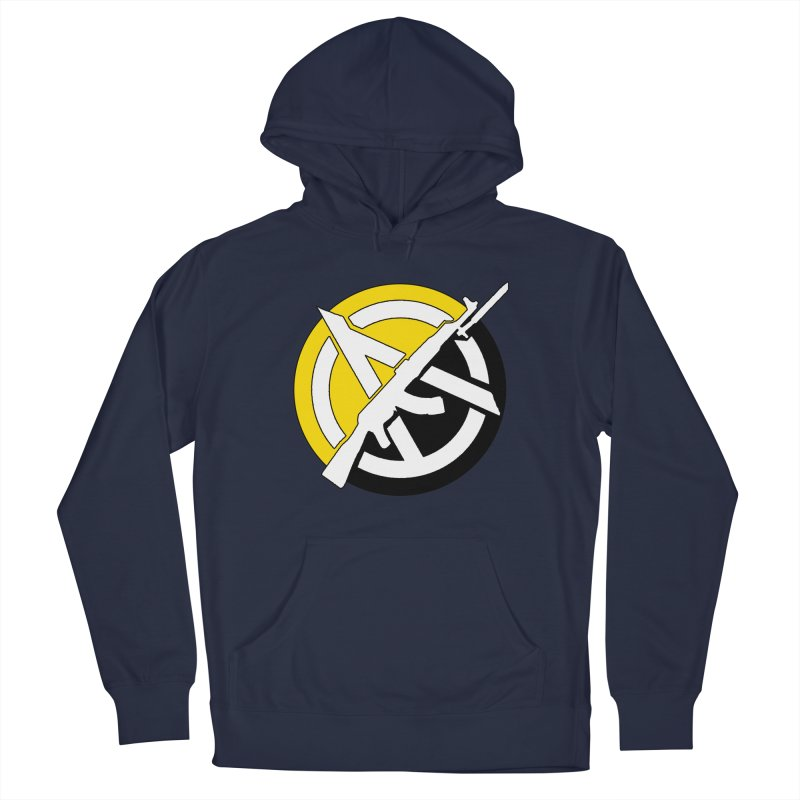 Ancap Anarchy Men's Pullover Hoody by Black Market Designs