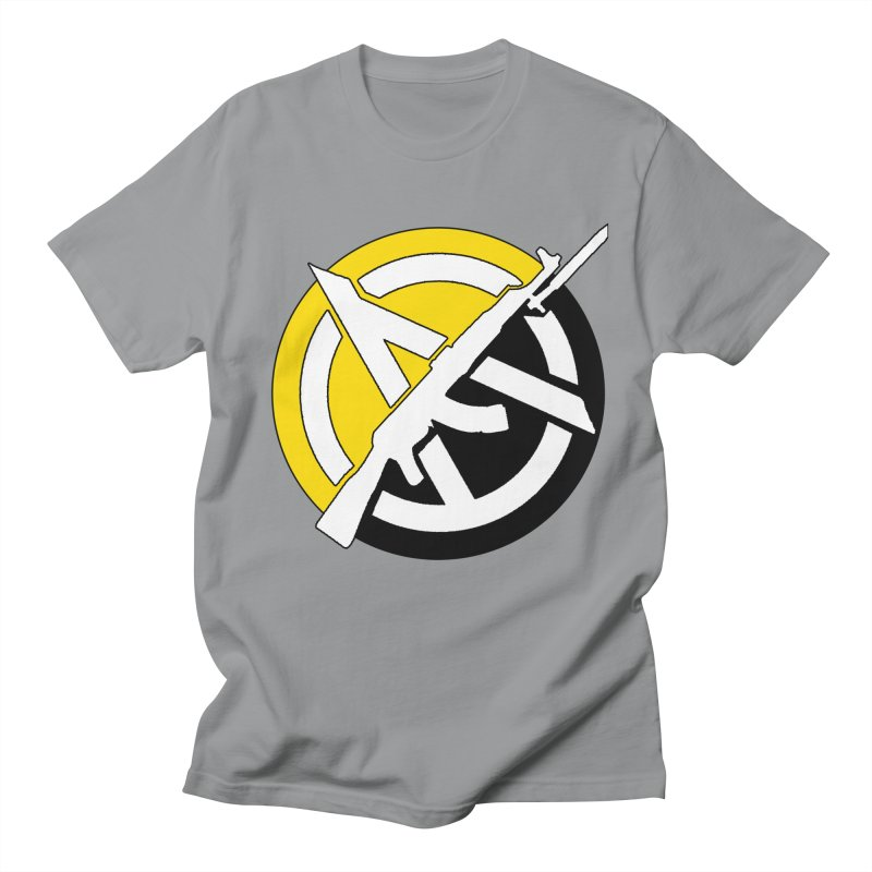 Ancap Anarchy Men's T-Shirt by Black Market Designs