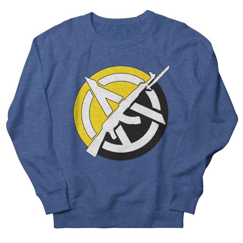 Ancap Anarchy Men's Sweatshirt by Black Market Designs