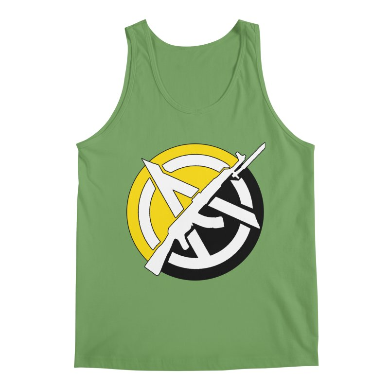Ancap Anarchy Men's Tank by Black Market Designs