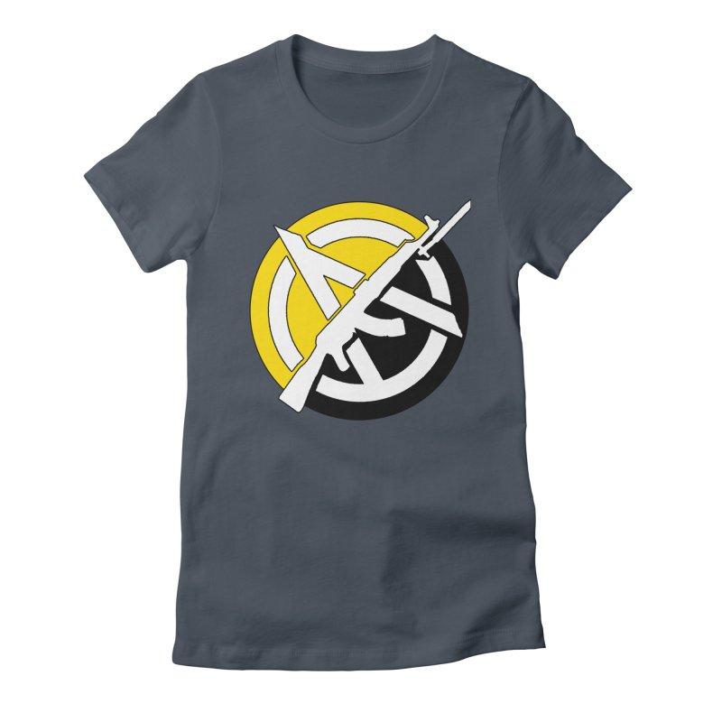 Ancap Anarchy Women's T-Shirt by Black Market Designs