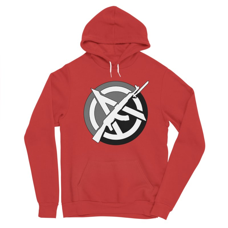 Agorist Anarchy Men's Pullover Hoody by Black Market Designs