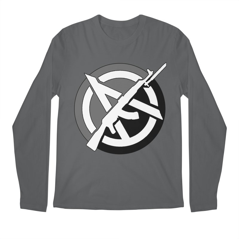 Agorist Anarchy Men's Longsleeve T-Shirt by Black Market Designs