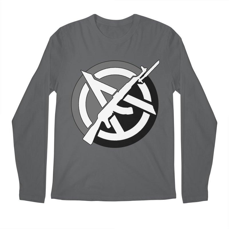Agorist Anarchy Men's Longsleeve T-Shirt by Black Market Designs