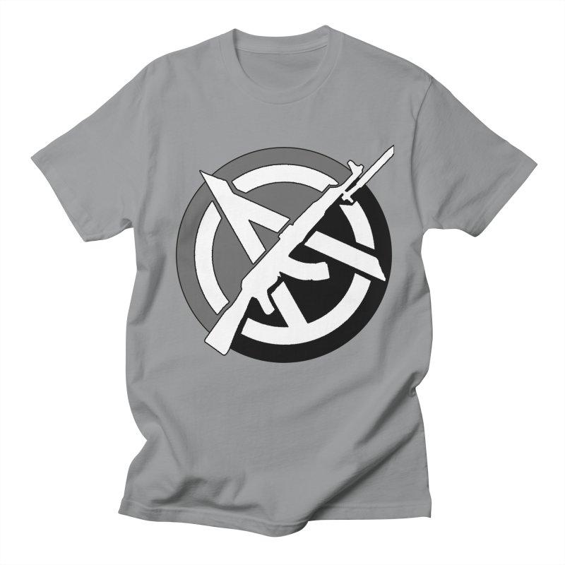 Agorist Anarchy Men's T-Shirt by Black Market Designs