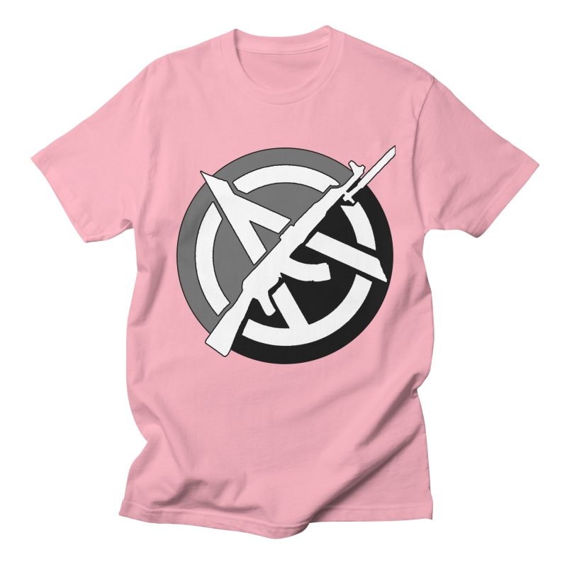 Agorist Anarchy Men's T-Shirt by Black Market Designs