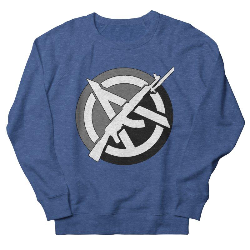 Agorist Anarchy Men's Sweatshirt by Black Market Designs